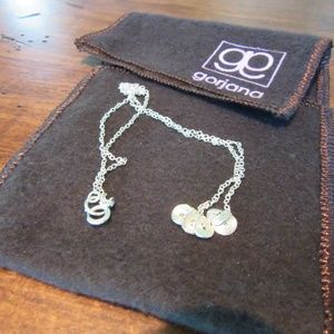 "Gorjana 16"" ""Petals"" Necklace 925 Sterling Silver"